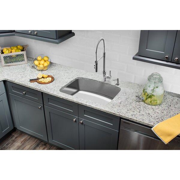 Stainless Steel 33 L x 22 W Undermount Kitchen Sink