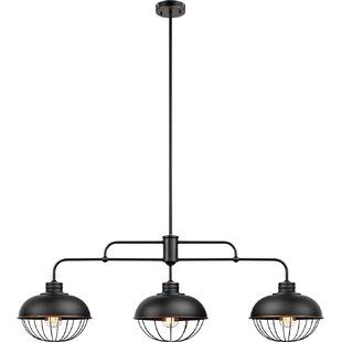 Comparison Quarles 3-Light Kitchen Island Pendant By Williston Forge