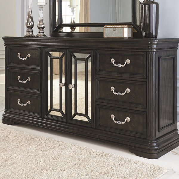 Quincy 6 Drawer Combo Dresser by Canora Grey