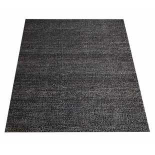 Elodia Solid Hand-Knotted Brown Indoor/Outdoor Area Rug By Gracie Oaks
