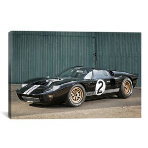 Cars and Motorcycles Ford GT40 Le Mans Race 1966 Photographic Print on Canvas by iCanvas