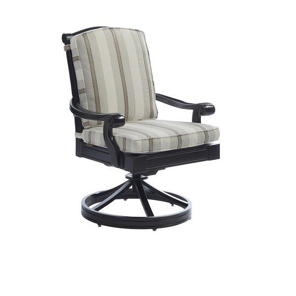 Kingstown Sedona Swivel Patio Dining Chair with Cushion