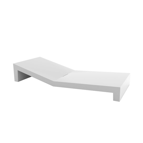 Jut Sun Chaise Lounge by Vondom Vondom