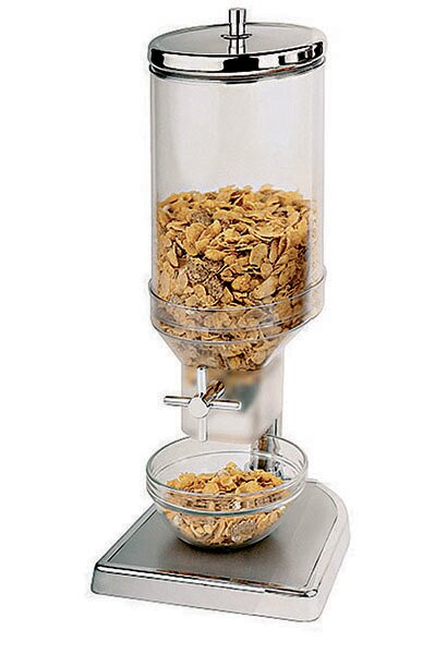 Single 150.4 Oz. Canister Cereal Dispenser by Paderno World Cuisine