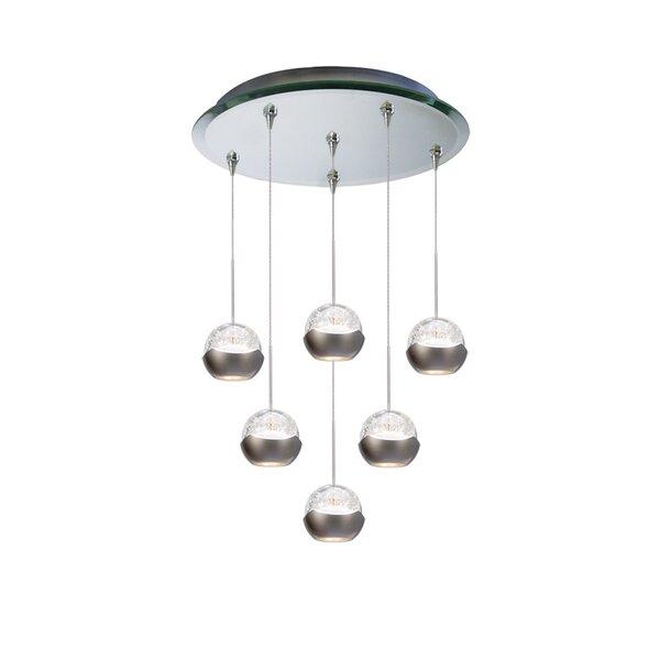 Genesis 6-Light Cluster Pendant by WAC Lighting
