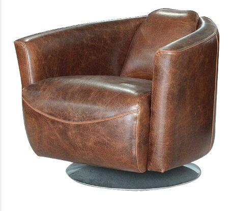 Lucy Swivel Club Chair by 17 Stories