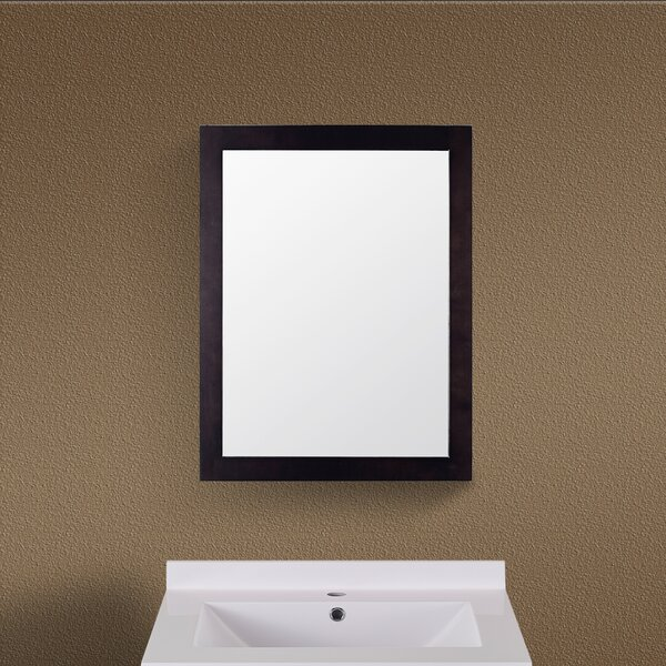 Rectangle Wood Frame Vanity Wall Mirror by Red Barrel Studio