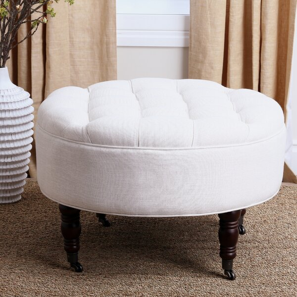 Marshall Tufted Cocktail Ottoman by Three Posts