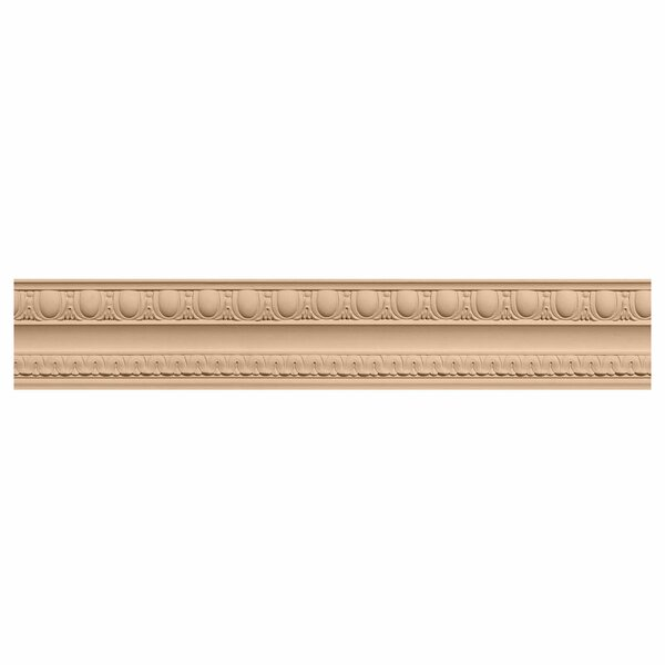 Bedford 3H x 96W x 2 1/4D Carved Wood Crown Moulding by Ekena Millwork