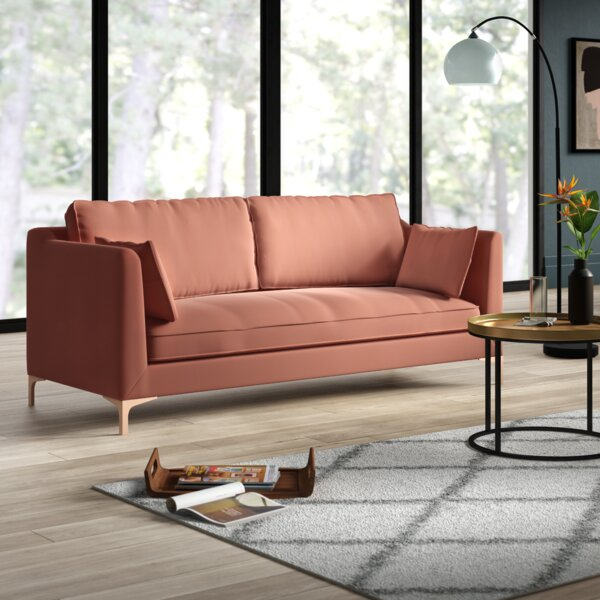 Expert Reviews Dupuis Sofa by Mercury Row by Mercury Row