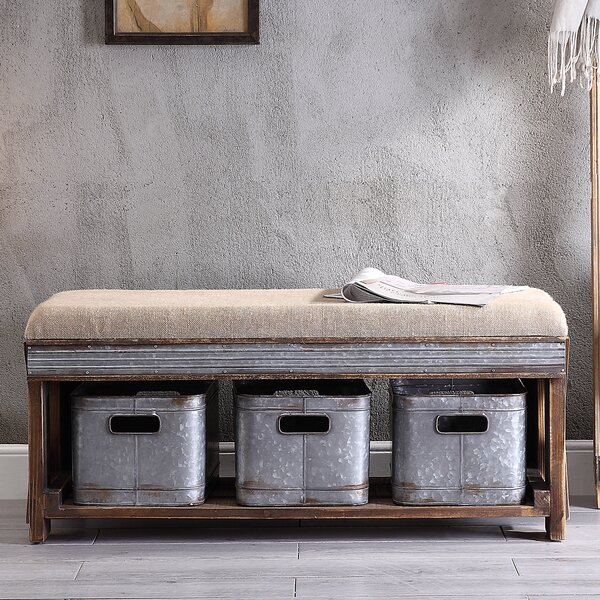 Edite Storage Bench by Gracie Oaks
