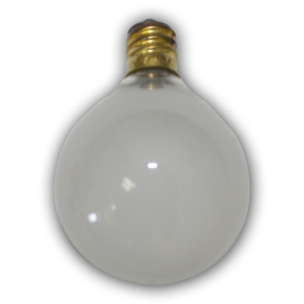 5W Frosted E12 Incandescent Vintage Filament Light Bulb by Aspen Brands