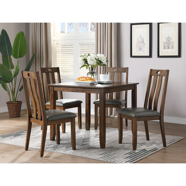 Desantiago 5 Piece Dining Set by August Grove August Grove