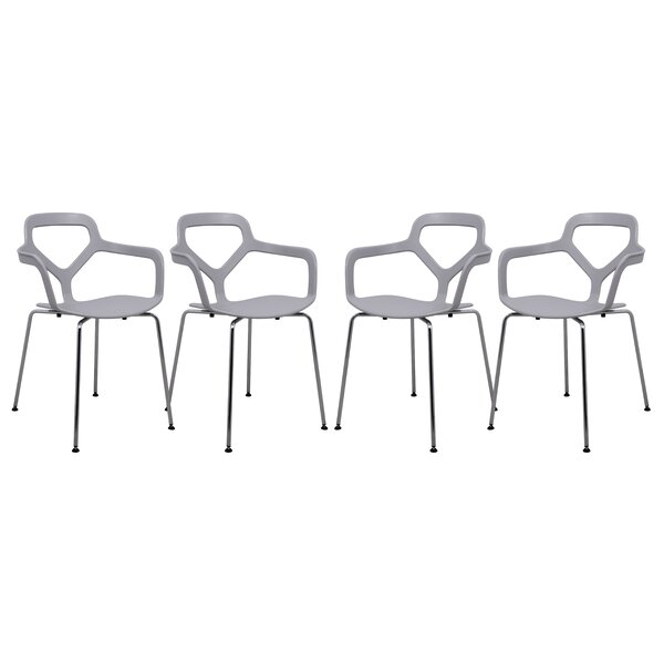 Carney Arm Chair (Set of 4) by LeisureMod