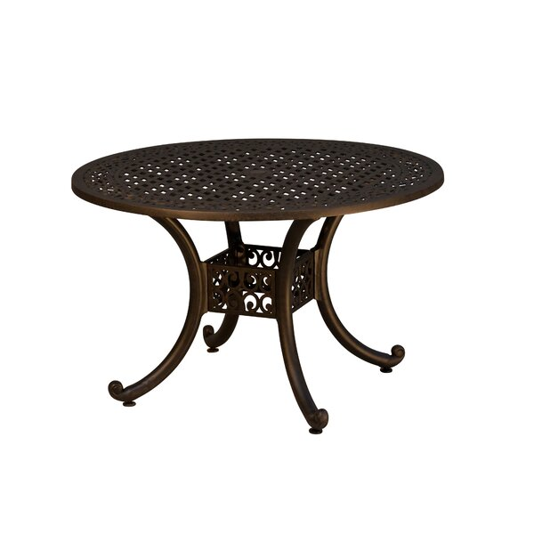 Westhampton Metal Dining Table by Fleur De Lis Living
