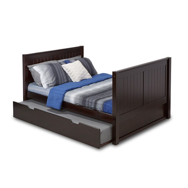Rabon Full Platform Bed with Twin Trundle by Harriet Bee