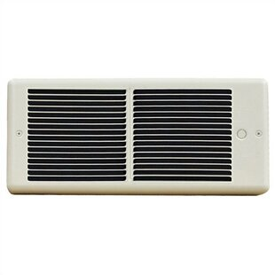 Register Wall Insert Electric Fan Heater with Box by TPI