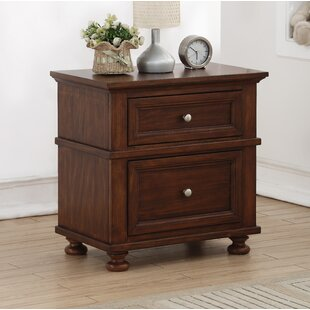 Balmorhea 2 Drawer Nightstand By Greyleigh