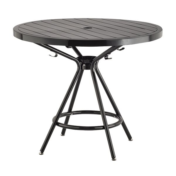 Spilsby Steel Dining Table by Ebern Designs