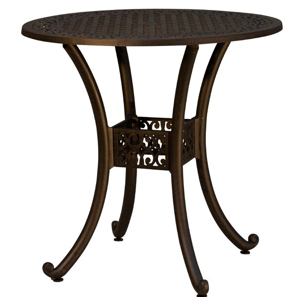 Westhampton Metal Bar Table by Fleur De Lis Living