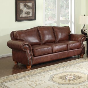 Battista Leather Sofa