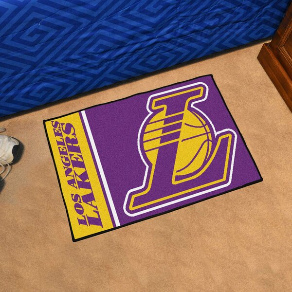 NBA Los Angeles Lakers Starter Mat by FANMATS