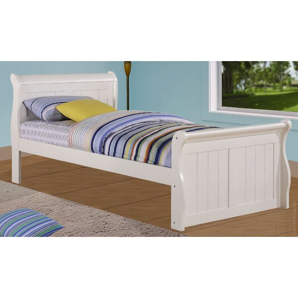 Jacquline Sleigh Bed by Harriet Bee