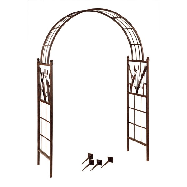 Dragonfly Steel Arbor by Deer Park Ironworks