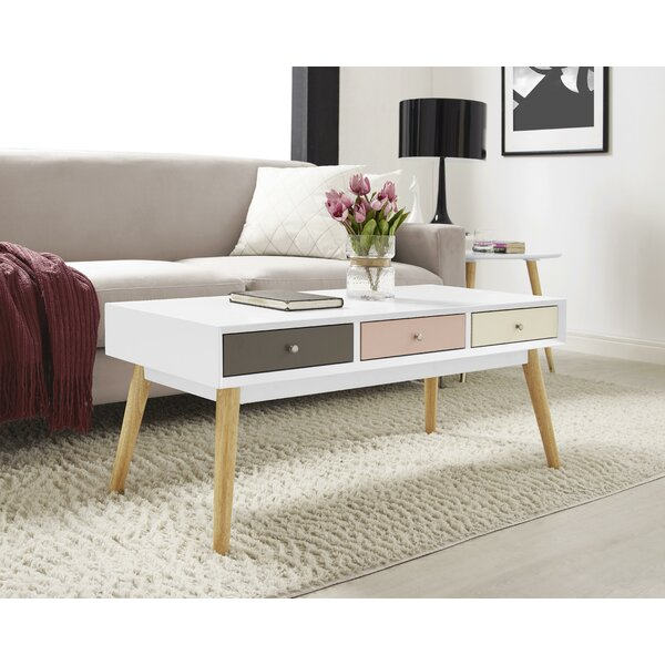 Orla Coffee Table with Storage by Elle Decor