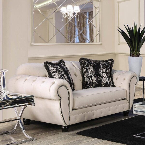 Great Sale Napoleon Loveseat by Rosdorf Park by Rosdorf Park