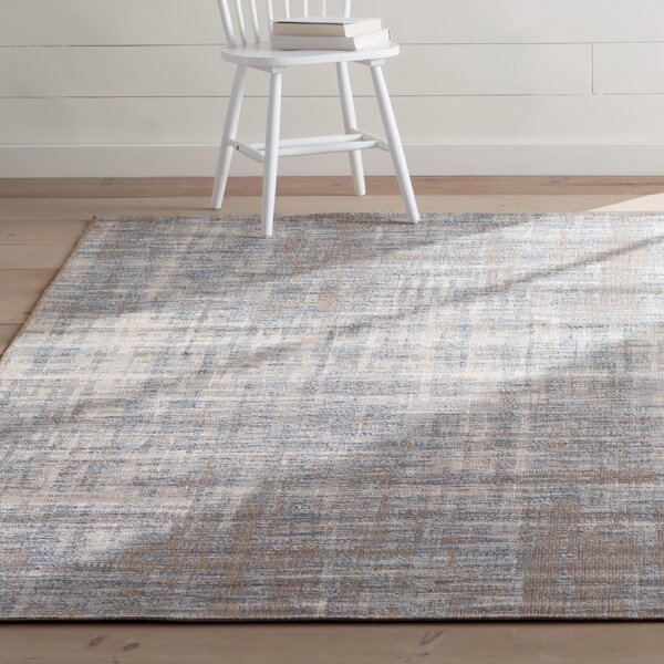 Alston Sky Blue/ Pale Blue Indoor/Outdoor Area Rug By Laurel Foundry Modern Farmhouse