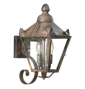 Comparison Theodore Outdoor Sconce By Darby Home Co