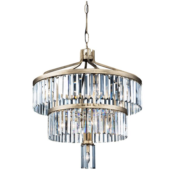 Killingworth 13 - Light Unique / Statement Tiered Chandelier By Everly Quinn