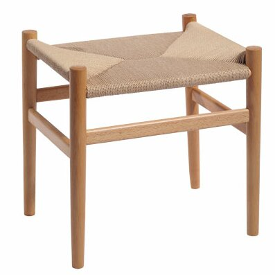 Nishank Solid Wood Accent Stool by Gracie Oaks