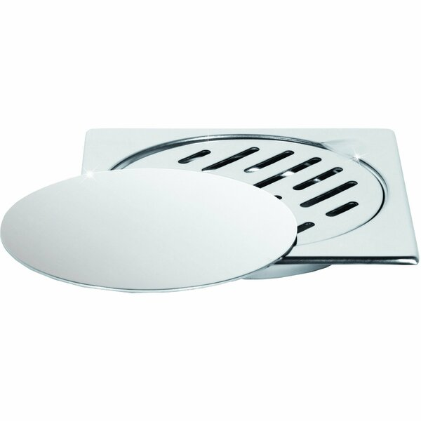 Steel Floor Removable Cover Grid Shower Drain by AGM Home Store