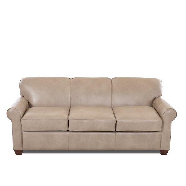 Looking for Jennifer Leather Sofa By Wayfair Custom Upholstery™ Design