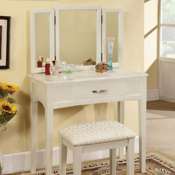Ignasky Vanity Set with Mirror by Red Barrel Studio