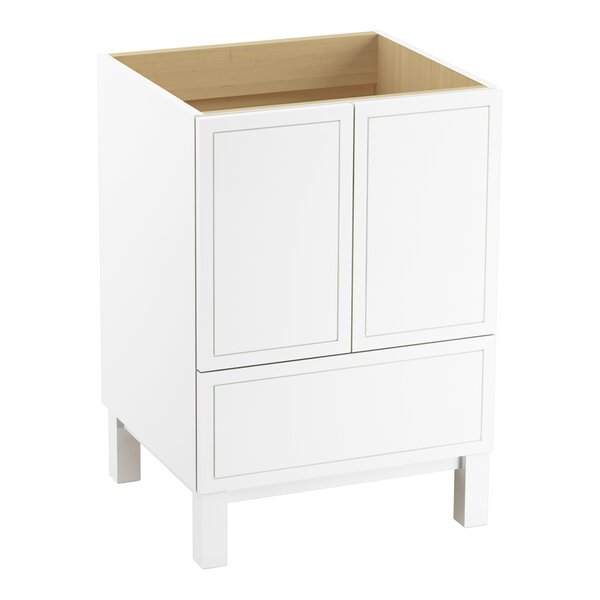 Jacquard™ 24 Vanity with Furniture Legs, 2 Doors and 1 Drawer by Kohler