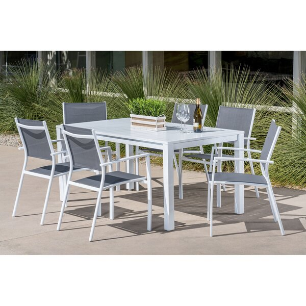 Lebron 7 Piece Patio Dining Set by Latitude Run