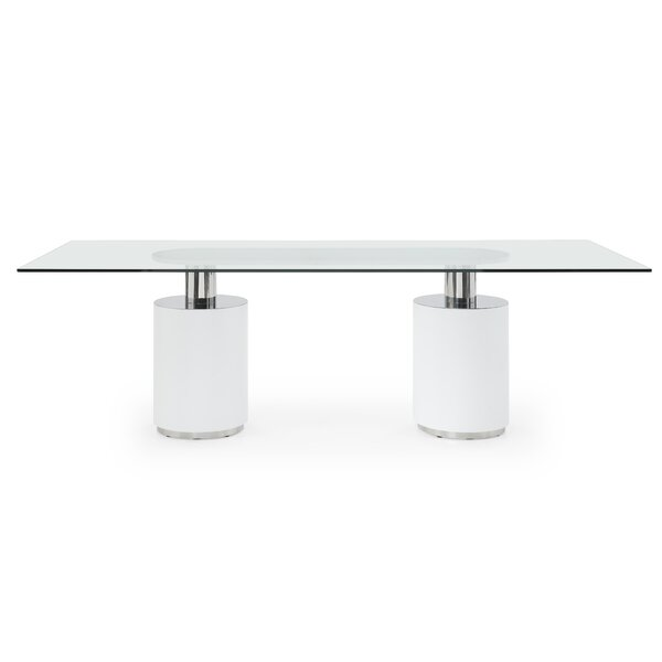 Lokshin Dining Table by Orren Ellis Orren Ellis