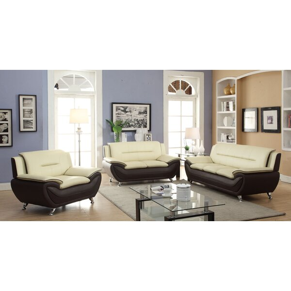 Hiers 3 Piece Living Room Set by Latitude Run