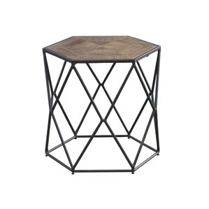 Caryl Hex End Table by Ivy Bronx