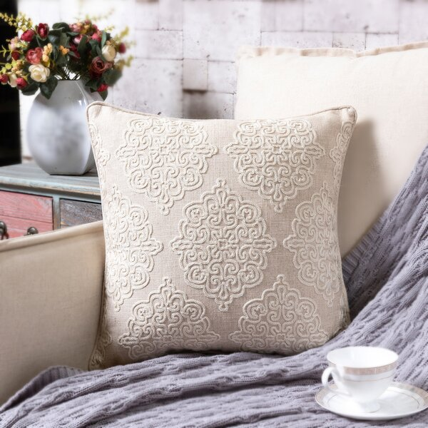 Dittmar Throw Pillow by Three Posts