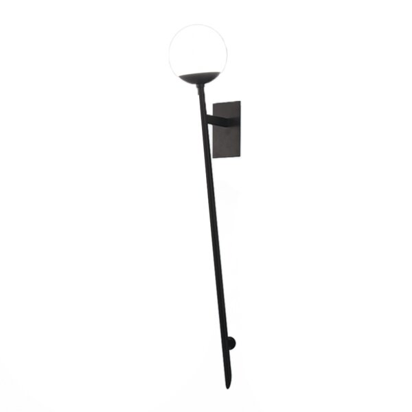 Pellston 1-Light LED Armed Sconce by George Oliver