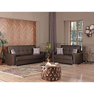 Bozhdana Alaska 2 Piece Sleeper Living Room Set (Set of 2) by Latitude Run®