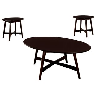 Jeffrey 3 Piece Coffee Table Set By George Oliver