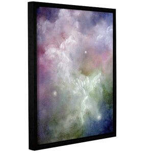 Dancing Angels by Marina Petro Framed Painting Print on Wrapped Canvas by ArtWall