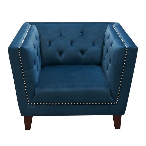Grand Armchair by Diamond Sofa Diamond Sofa