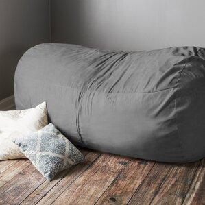 Giant Bean Bag Sofa by Latitude Run