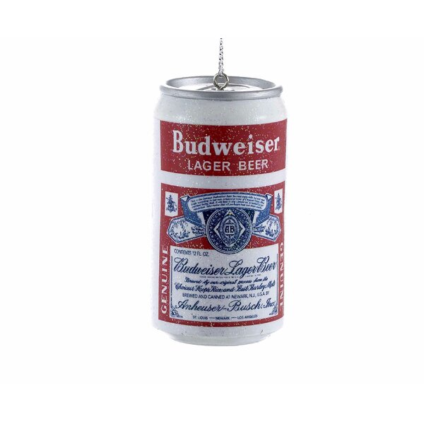 Budweiser Vintage Beer Can Blow Mold Ornament by Kurt Adler